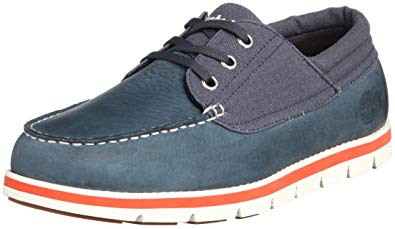 Timberland Men's Harborside 3Eye Canvas Oxford