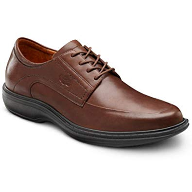 Dr. Comfort Classic Men's Therapeutic Diabetic Extra Depth Dress Shoe Leather Lace