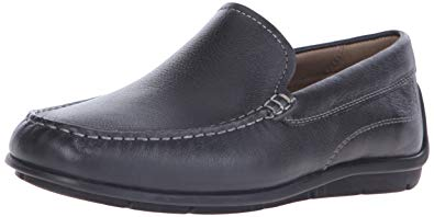 ECCO Men's Classic MOC Slip On Slip-On Loafer, Black, 43 EU/9-9.5 M US